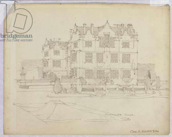 Montacute House, Somerset, 1895 (pencil)