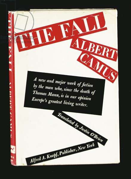 'The Fall' by Albert Camus (1913-60) published by Knopf, New York, 1959