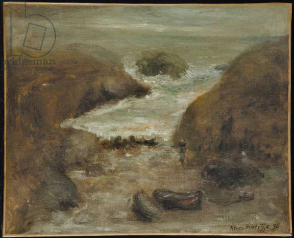 Belle-Ile, 1896 (oil on canvas)