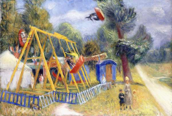 French Fair, c.1927 (oil on canvas)