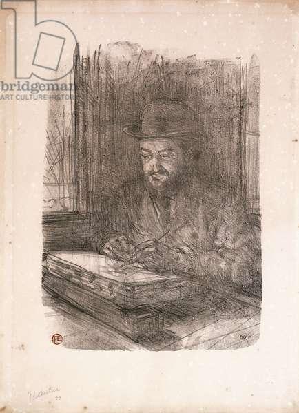 Le Bon Graveur, Adolphe Albert, 1898 (lithograph on wove paper)