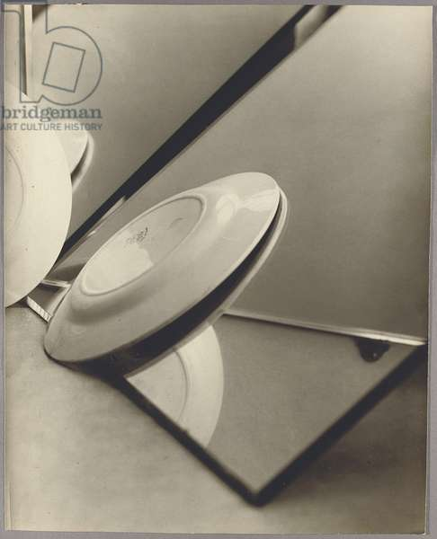 Composition (Plates and Mirrors), 1929 (gelatin silver print)