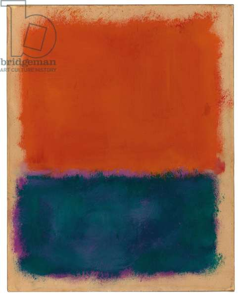 Untitled, 1960-1961 (oil on paper laid down on canvas)