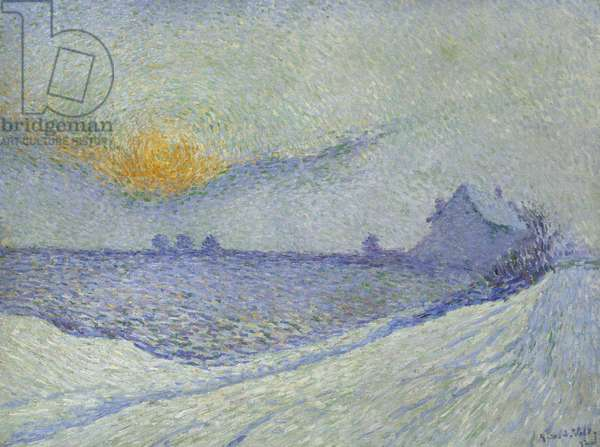 Winter Sun; Soleil d'Hiver, 1892 (oil on canvas)