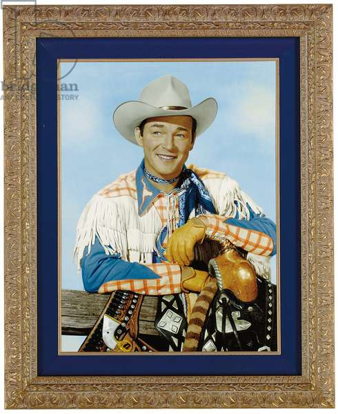 Roy Rogers (hand-tinted photo)