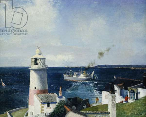 The Lighthouse, 1959 (oil on board)