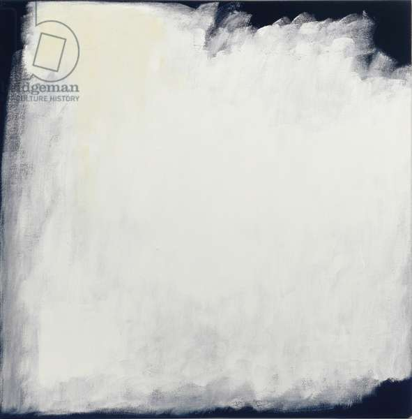 Series #33 (White), 2004 (oil on canvas)