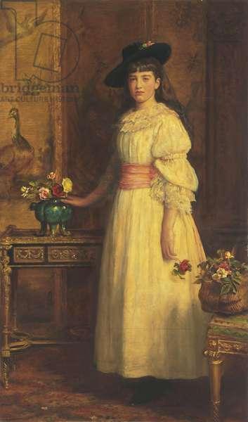 Miss Gertrude Vanderbilt, 1888 (oil on canvas)