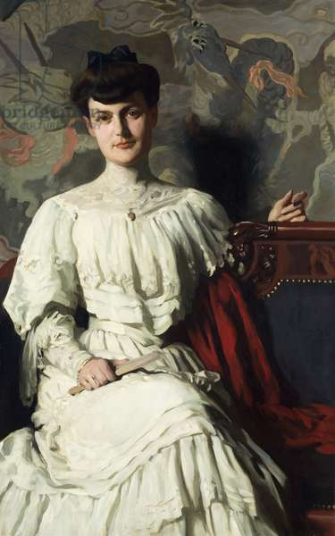Portrait of Marthe Hientz, c. 1906 (oil on canvas)