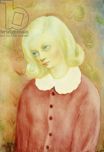 Young Polish Girl; Jeune Fille Polonaise, 1938 (oil on canvas)