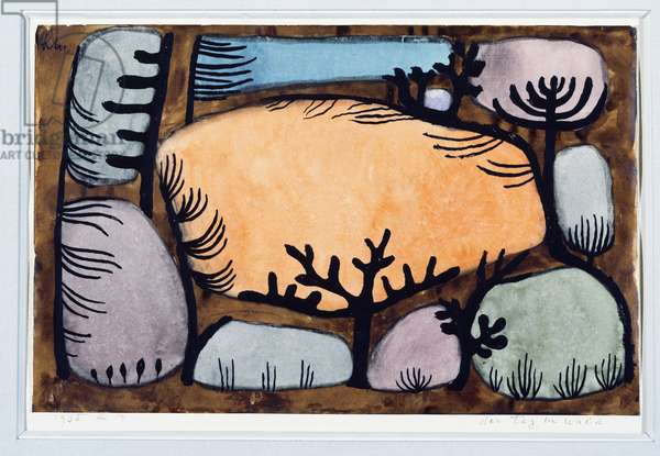 A Day in the Forest, 1935 (gouache & w/c on paper)