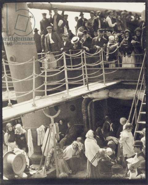 The Steerage, 1907 (small-format photogravure)