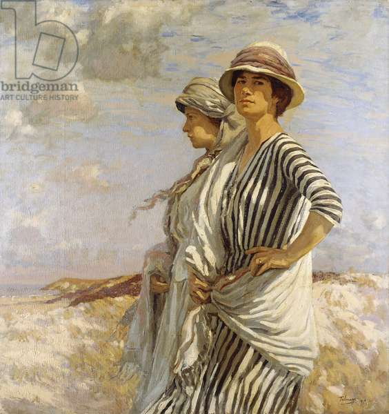Mrs Talmage and a Friend, 1916 (oil on canvas)