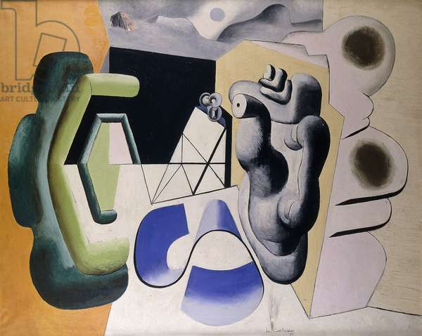 Harmonic Perilous No. 2; Harmonique Perilleuse No.2, 1931 (oil on canvas)