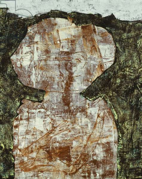 Node in the Hair (The Impossible); Noeud dans les Cheveux (L'Impossible), 1955 (oil on canvas)