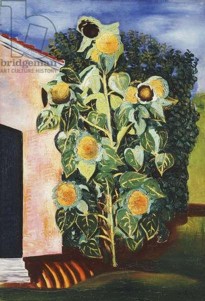 Sunflowers; Les Tournesols, 1918 (oil on canvas)