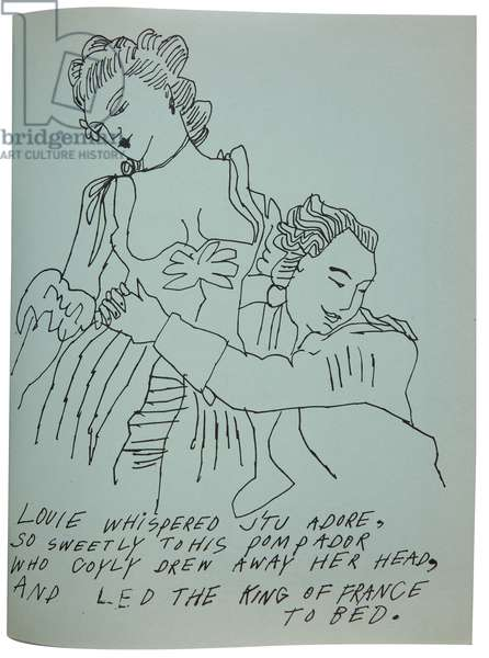 Love is a Pink Cake, 1953 (litho)