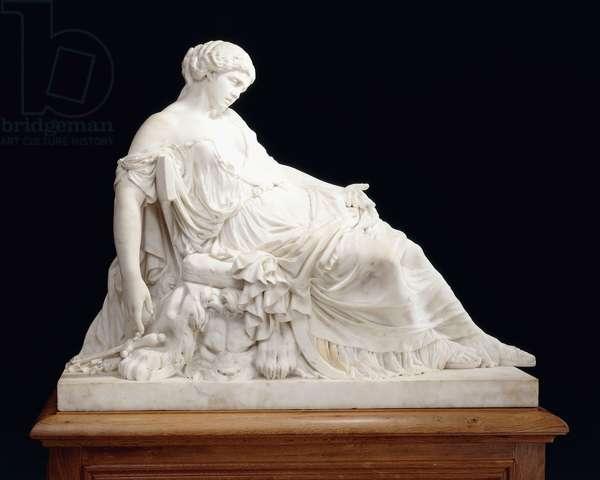 Lucrezia,  (marble)