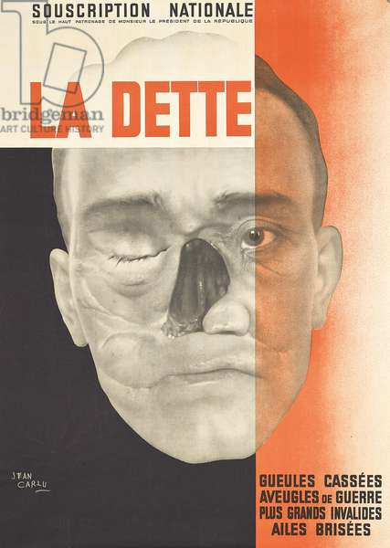 La Dette, 1931 (lithography and photography)