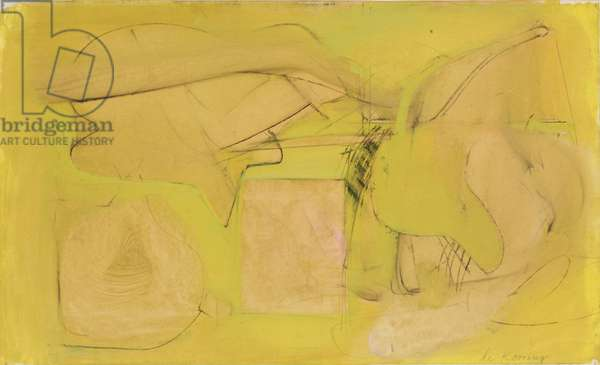 Untitled, c.1946 (oil, charcoal and graphite on paper)