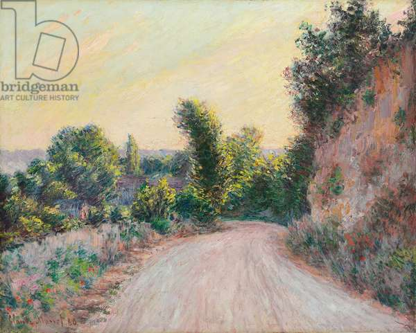 Road; Chemin, 1885 (oil on canvas)