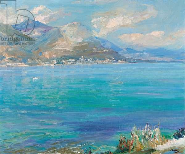 Beaulieu, 1920 (oil on canvas)