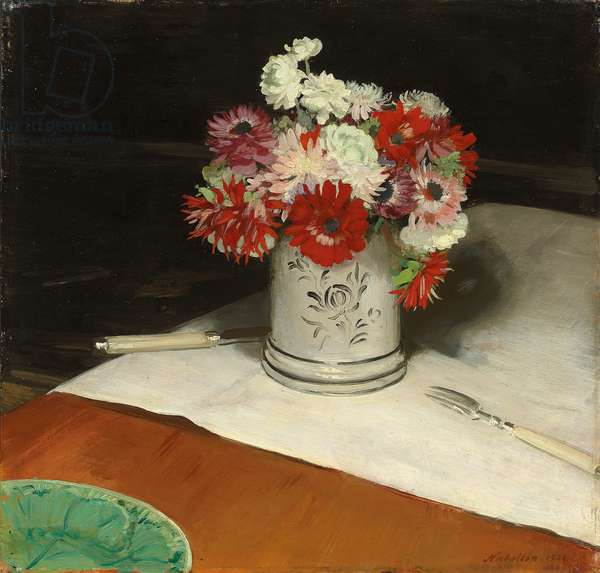 Double Anemones, 1921 (oil on canvas)