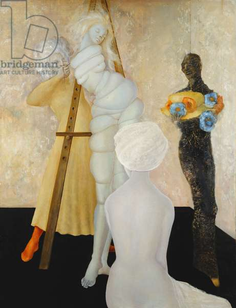 The Fitting; L'Essayage, c.1958 (oil on canvas)