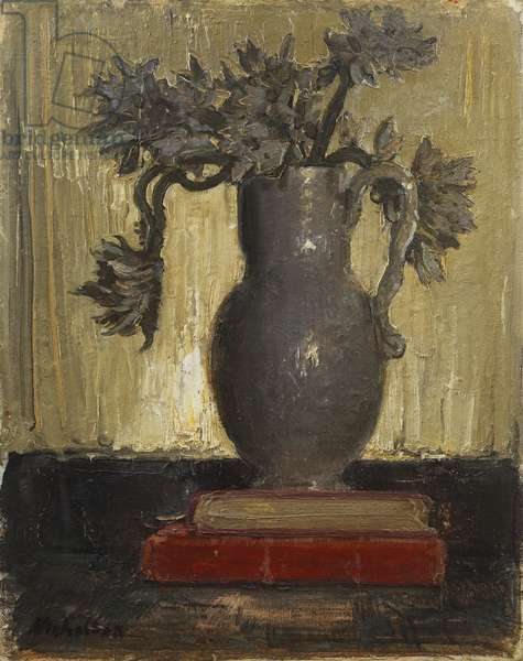 The Grey Jug, c.1941-42 (oil on canvas board)