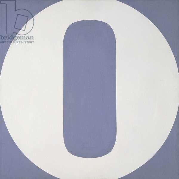 Zero, 1965 (oil on canvas)