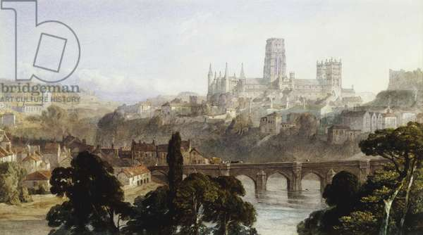 Durham Cathedral, 1846 (pencil and watercolour with touches of bodycolour)