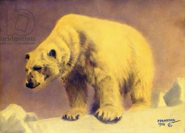 Sovereign of the Arctic, 1986 (oil on masonite)