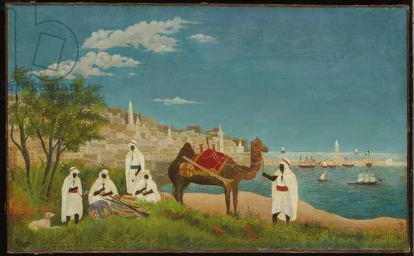 Landscape, Algiers, 1880 (oil on canvas)