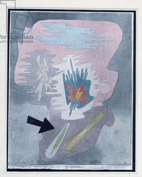 Still Life, 1929 (no 345) (w/c and pen & ink on Fabriano paper)