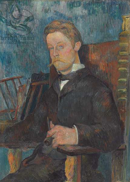 Portrait of a Man, 1884 (oil on canvas)