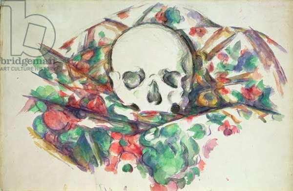 Skull on Drapery, c.1902-06 (w/c & pencil on paper)