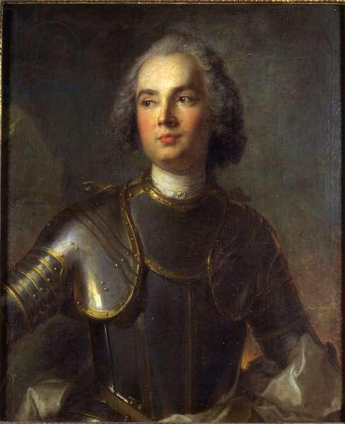 Portrait of Charles-Guillaume-Louis, Marquis de Broglie, Seigneur du Mesnil, 1734 (oil on canvas)