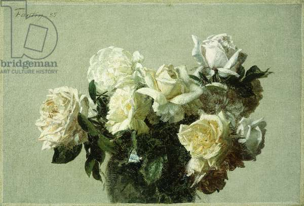 Roses, 1885 (oil on canvas)