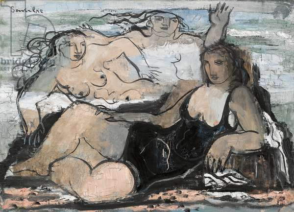 Baigneuses, 1928 (oil on canvas)