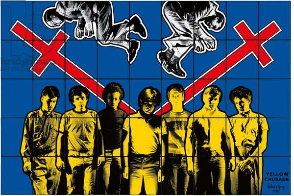 Yellow Crusade, 1982 (mixed media)