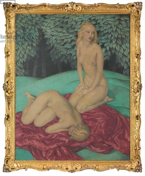 Nude Study  (oil on canvas)