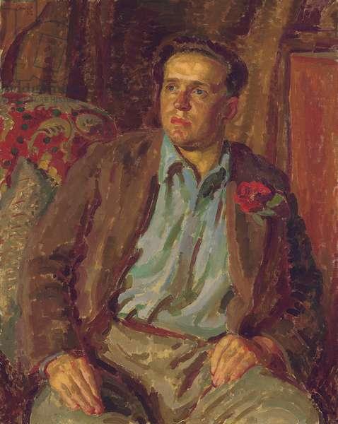Portrait of Stephen Tomlin, 1932 (oil on canvas)