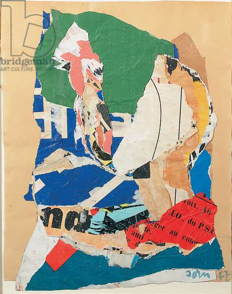 Untitled, 1967 (collage on paper)