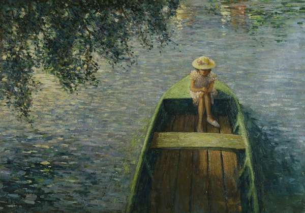The Boat on the Marne, 1905 (oil on canvas)