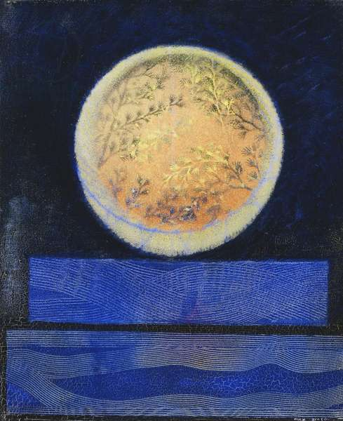 Venus Sees Some Earth, 1962 (oil on canvas)