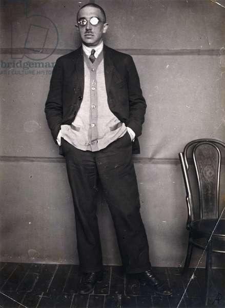 Portrait of Ossip Brik, 1924 (gelatin silver print)
