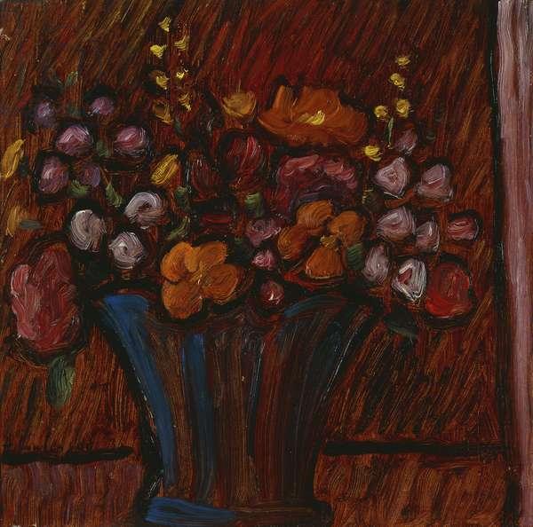 Floral Still life; Blumenstilleben, 1936 (oil on board)
