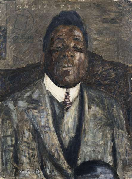 Le Negre Constantin, 1910 (oil on canvas)