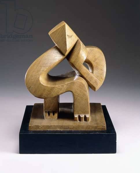 Seated Man (Meditation), 1925 (onyx)