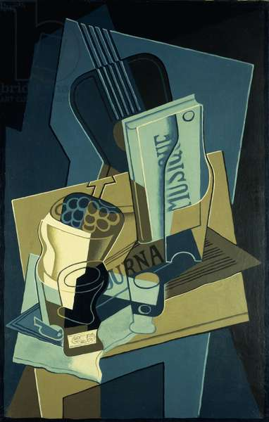 Music Book; Le Cahier de Musique, 1922 (oil on canvas)